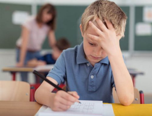 School Anxiety For Young Children